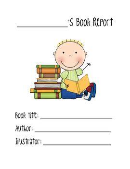 Book report activity sheets